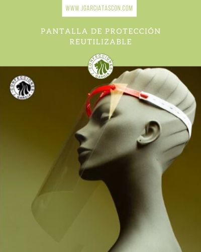 pantalla proteccion reutilizable